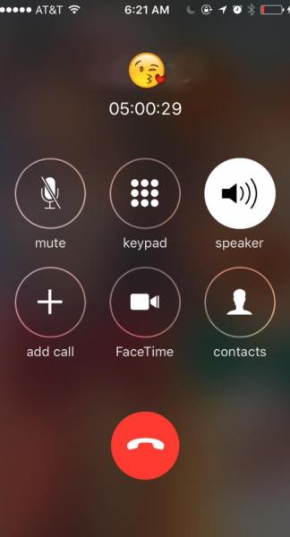 """Real screenshot taken during a September phone call with """"Andre"""""""